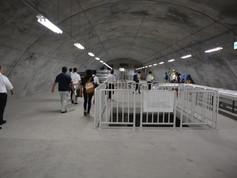 仙台の海と山を結ぶ地下鉄東西線見学