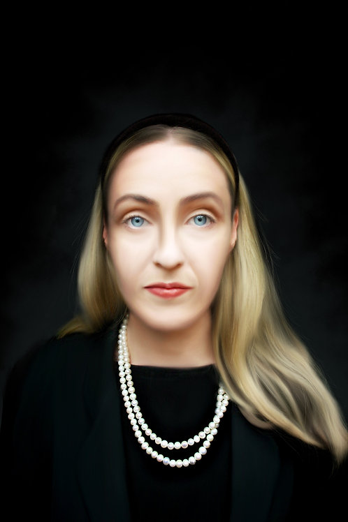 Lisa Gerrard 2 - Printed Digital Portrait