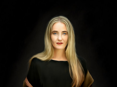 Lisa Gerrard 1 - Printed Digital Portrait