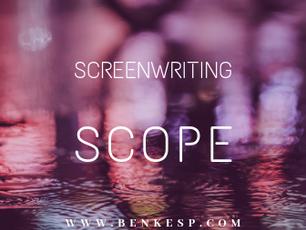 Screenwriting: Beginning and Scope