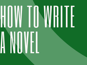 Writing a Novel - How to Start