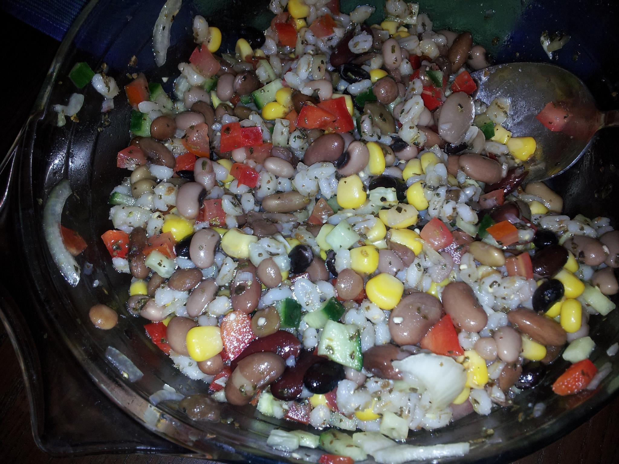 綜合豆沙拉
