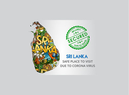 Is Sri Lanka a safe place to visit due to corona virus?