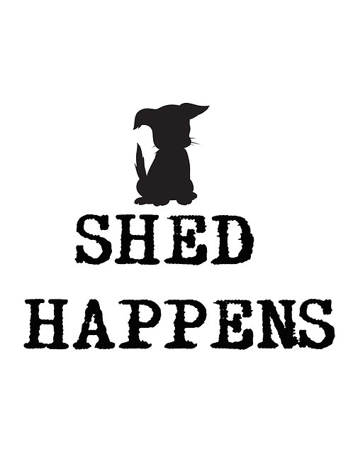 SHED HAPPENS Coaster