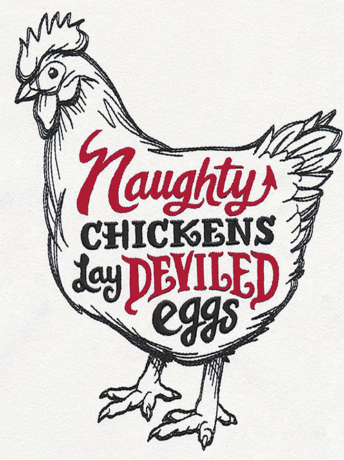 Naughty Chicken Coaster