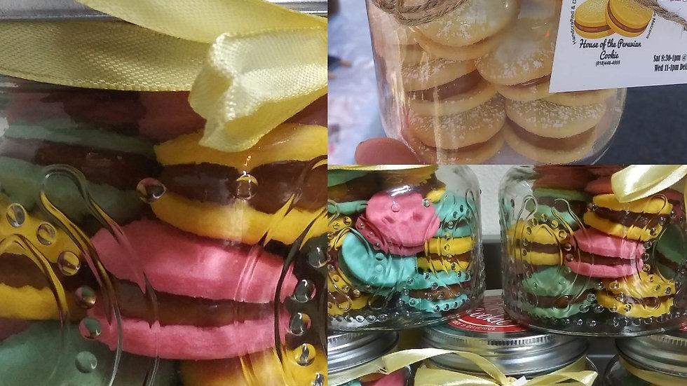 Mini Bite Alfajor Jars