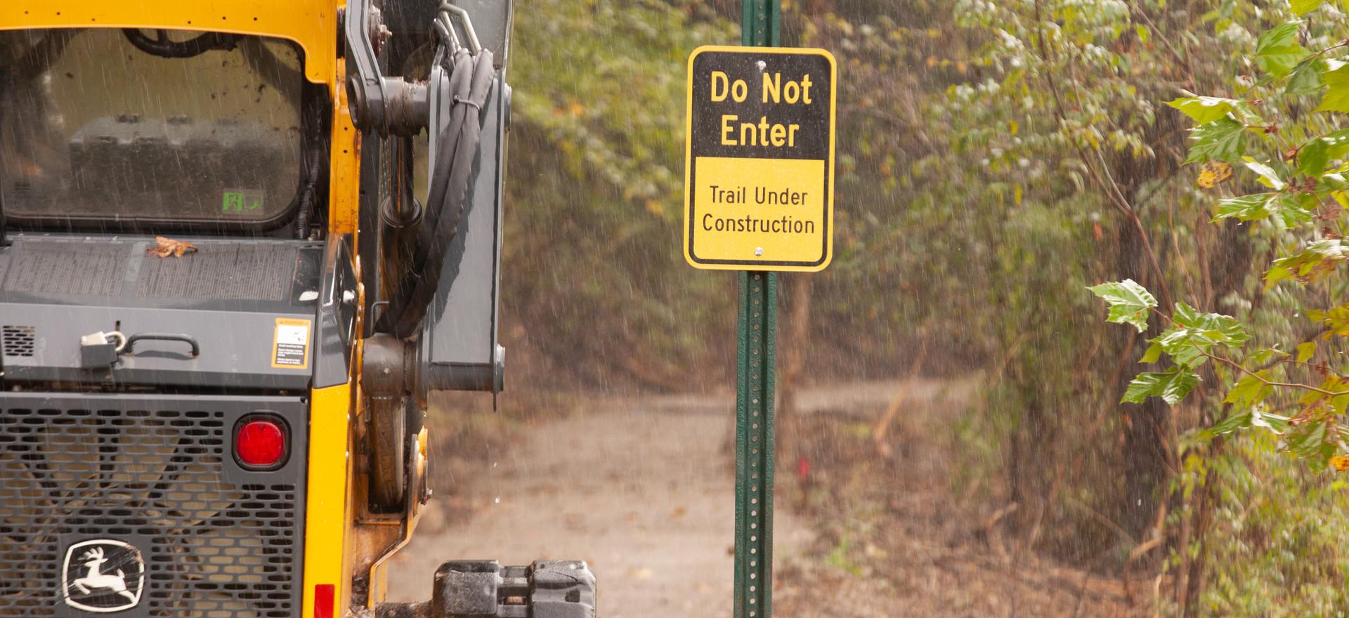 ADA Trail Underway