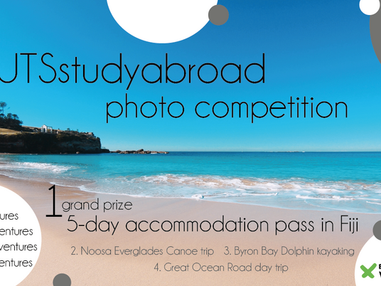 UTS study abroad photo competition - spring 2018