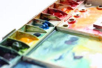 Used watercolors