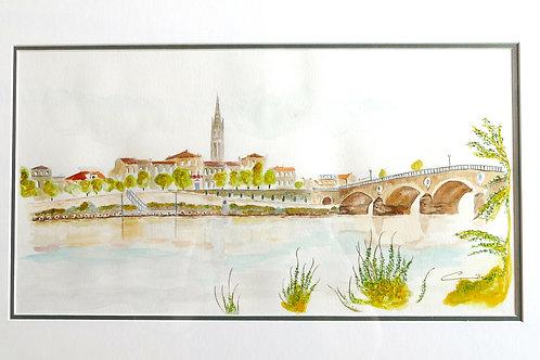 Vue de Libourne