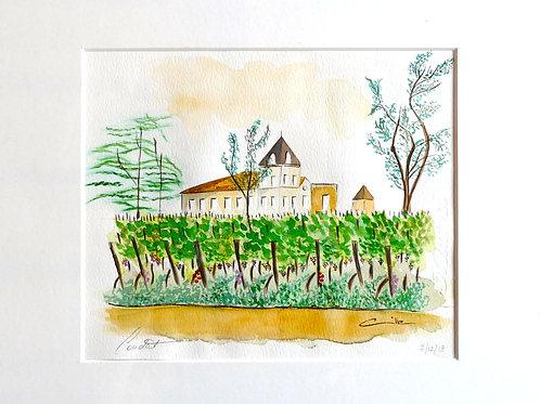 Le château de Condat