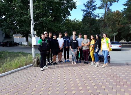 Молодёжь Красносулинского района отправилась на областные соревнования.