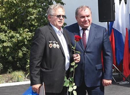28 августа Николай Альшенко поздравил тружеников шахты «Шерловская-Наклонная» с праздником.