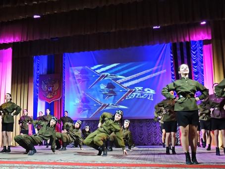 Праздничный концерт «Слава тебе, российский солдат!».