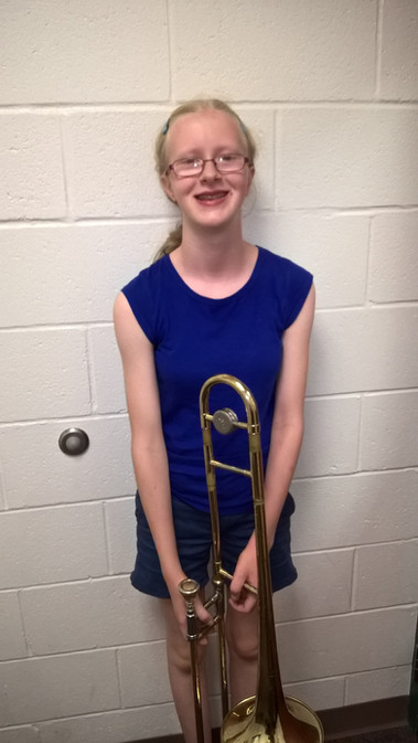 Isabelle passed off her major scales!