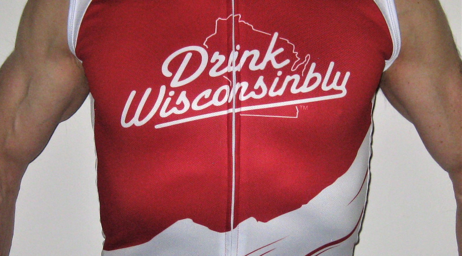 Drink Wisconsinbly Cycling Jersey | Drink Wisconsinbly Apparel | custom jersey for Tour de Cure | Custom jersey for JDRF Diabetes Foundation - Juvenile Diabetes Research Foundation