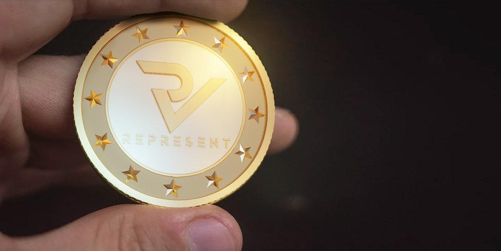 Represent coin RPT
