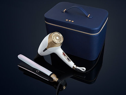 ghd limited edition platinum+ & helios™ white deluxe gift set