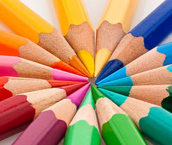 Shutterstock -Many different colored pen