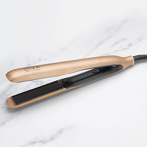 Diva pro styling precious metals touch straightener (rose gold)