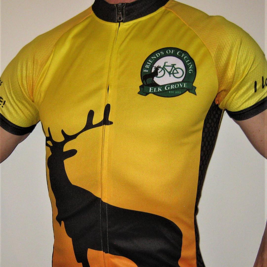 Cycling Club custom cycling jersey |  Elk Grove Cycling Club
