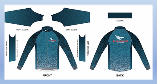 eVent_Fabrics | Custom riding jacket | Custom Cycling Jackets | Custom Jackets | Custom Cycling Jackets for Teams, Clubs & Individuals | Custom horse-riding jacket | Italian ink printing process means that the finished products will retain their vibrant colors through years of continued use.