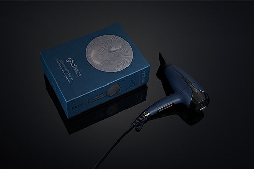 ghd helios™ professional hair dryer in ink blue