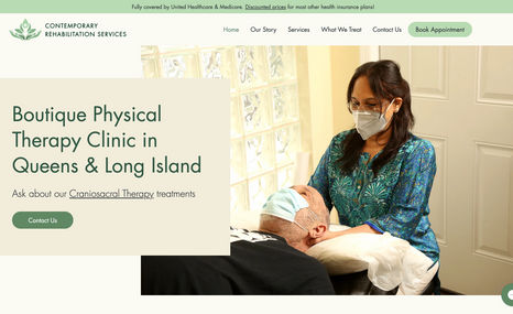 Contemporary Rehab Services Boutique Physical Therapy Clinic in Queens & Long ...