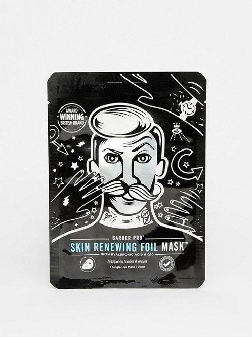 BARBER PRO Skin Renewing Foil Mask with Hyaluronic Acid
