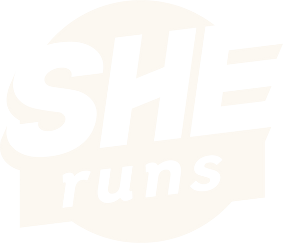 SHEruns certification mark logo