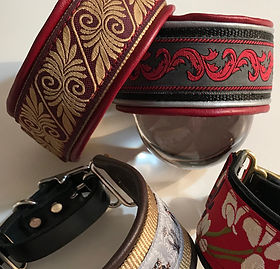 custom dog collars by lead the hounds