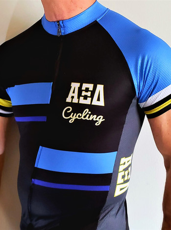 Custom Fraternity Sorority cycling jerseys