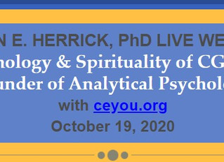 Psychology & Spirituality of CG JungFounder of Analytical Psychology October 19, 2020