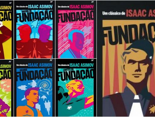 O futuro em dois tempos: Fundação, de Isaac Asimov, e Jogos Vorazes, o filme.