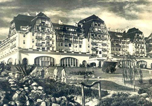 Hotel Cassino Quitandinha. Fonte: pinterest