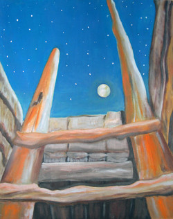 Night at Chaco web-16x20-oil-$150