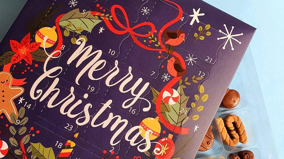 Christmas Wreath Advent Calender