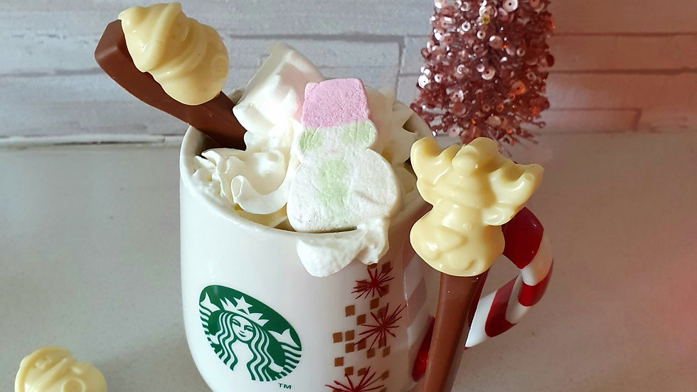 3 x Hot Chocolate Spoons