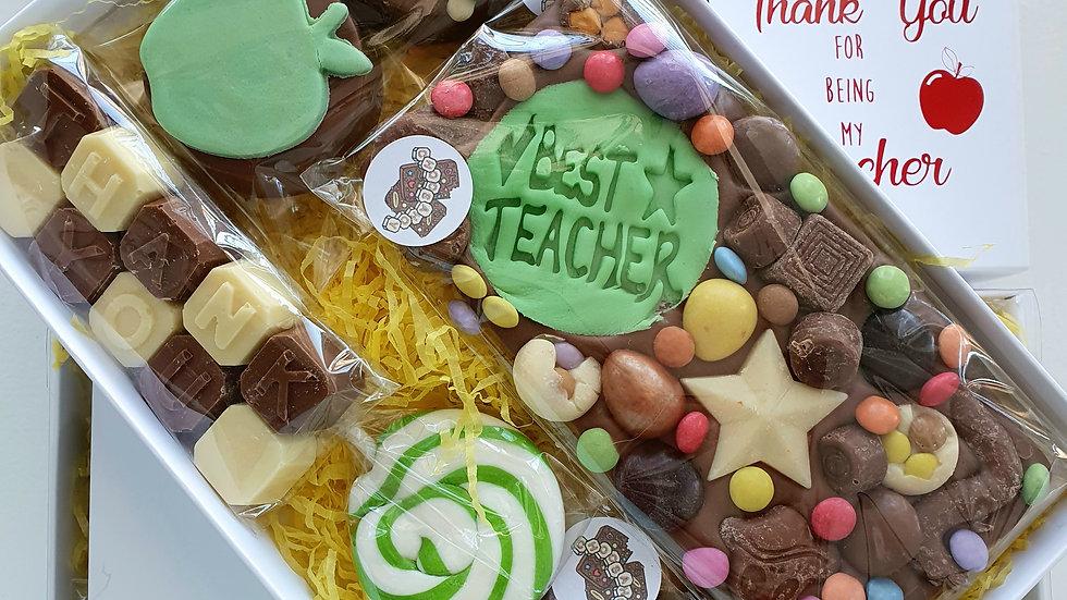 Thank you teacher gift box