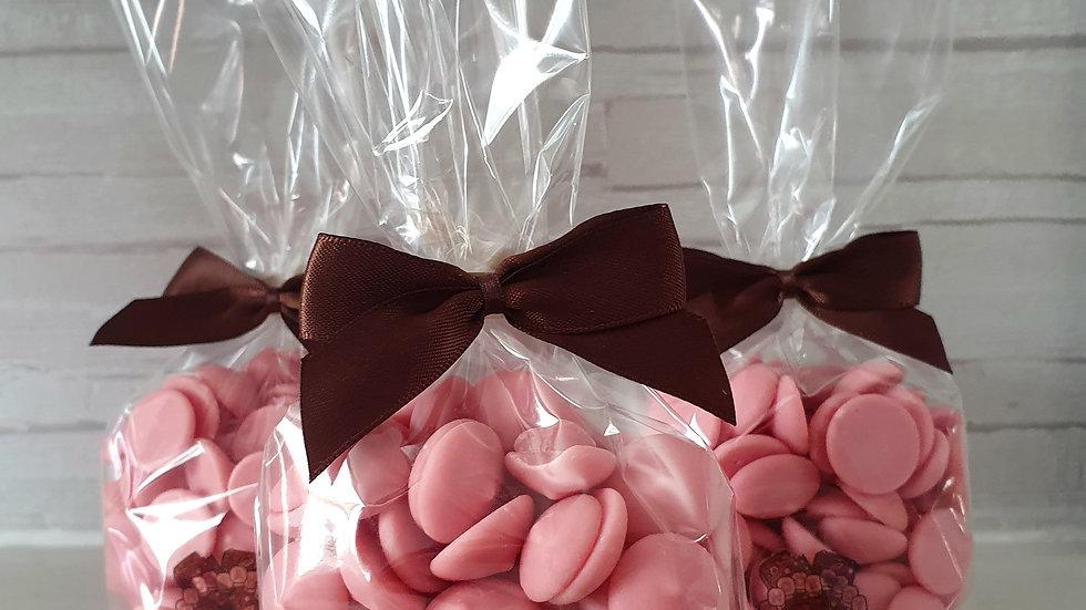 Strawberry Cream Belgian Chocolate Drops
