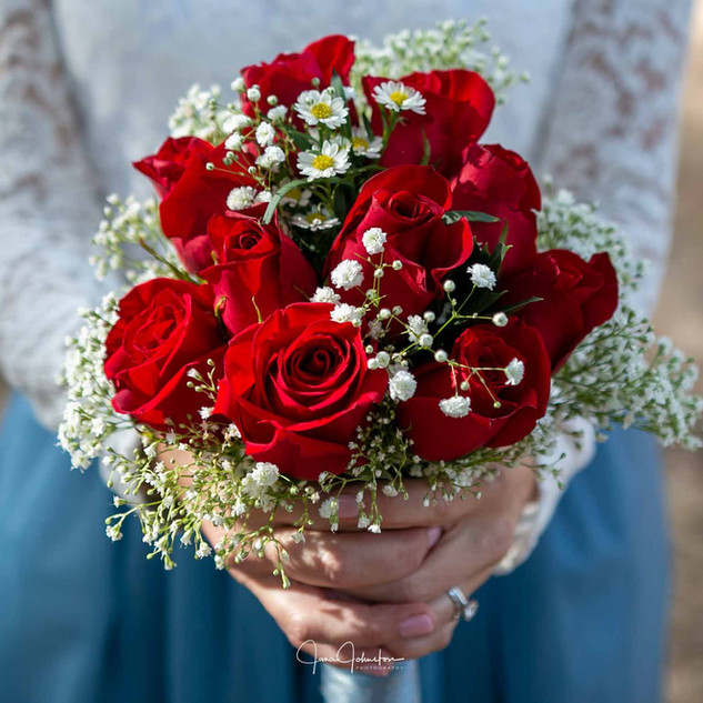 wedding flower boquet