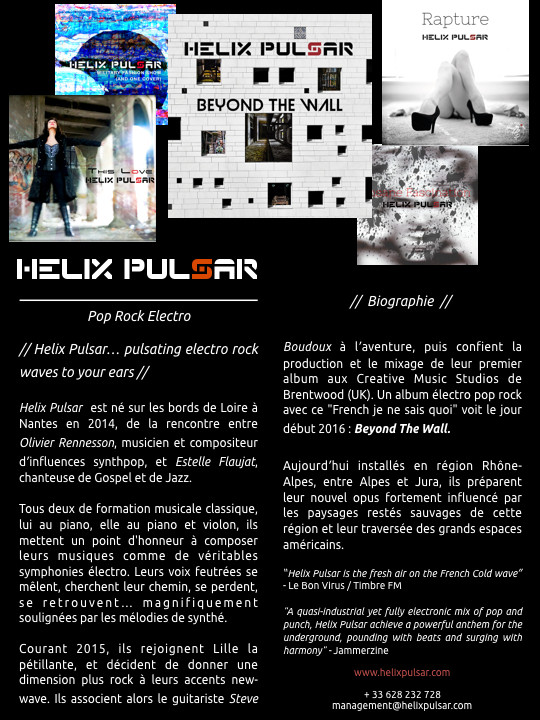 Biographie Helix Pulsar