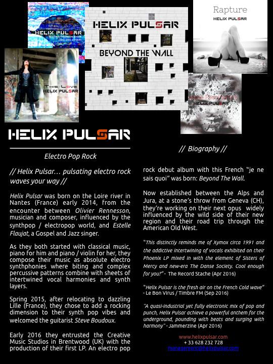 Helix Pulsar Biography