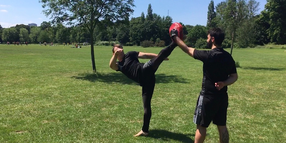 Training in the park