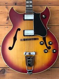 1969 Gibson Barney Kessel Regular Semi-Acoustic Guitar