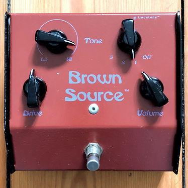 1995 Lovetone Brown Source Overdrive
