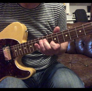 2011 Fender Graham Coxon Tele, Charmless Man Intro
