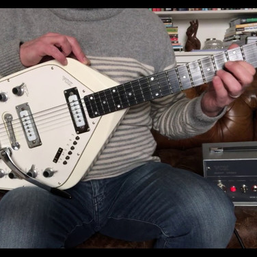 1966 Vox V251 Guitar Organ