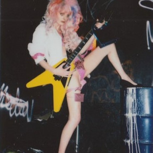 1988 Gibson Flying V'90 Fashion Shoot