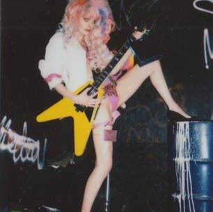 1988 Gibson Flying V'90 Fashion Shoot